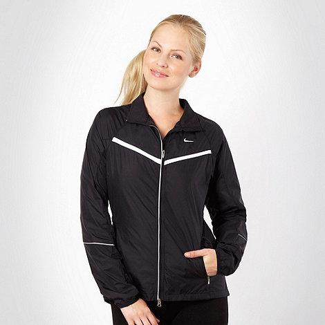 Nike - Black lightweight running jacket