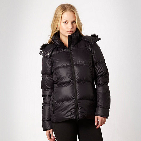 adidas - Black essential padded jacket