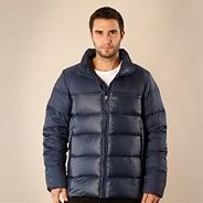 Nike blue basic down jacket