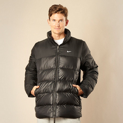 Nike - Black down padded jacket