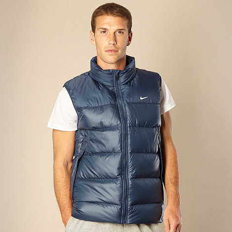 Nike - Navy down filled gilet