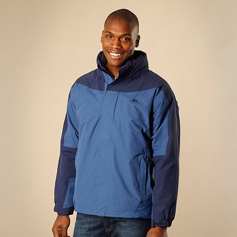 Trespass - Blue 3-in-1 hooded technical jacket