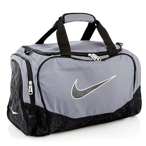 Nike - Dark grey small holdall bag