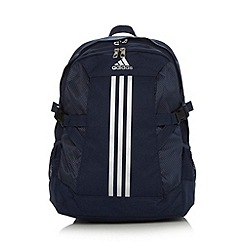 adidas - Navy canvas backpack