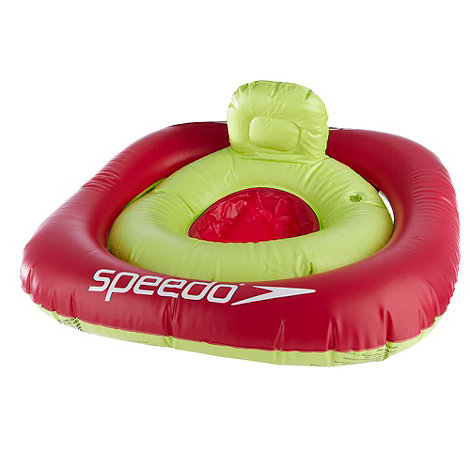 Speedo - Baby+s pink +Sea Squad Swim Seat+