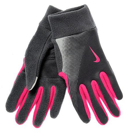 Nike - Dark grey thermal running gloves