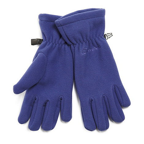 Berghaus - Purple +Spectrum+ fleece gloves