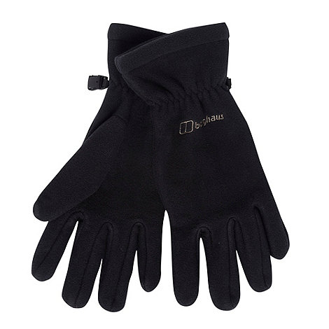 Berghaus - Black fleece gloves