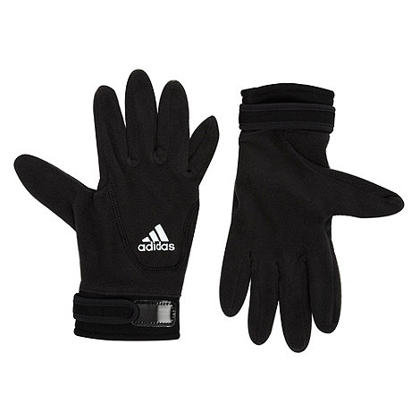 adidas - Black ClimaWarm fleece gloves