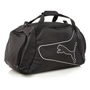 Black 'Powercat' medium holdall bag