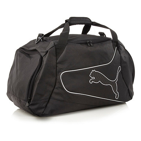 Puma - Black +Powercat+ medium holdall bag