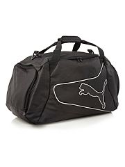 Black Powercat medium holdall bag