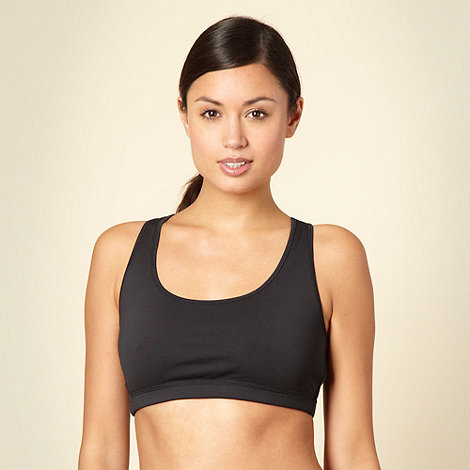 XPG by Jenni Falconer - Black racer back sports bra