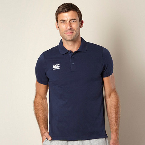 Canterbury - Navy waimak polo shirt