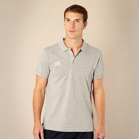 Canterbury - Grey waimak polo shirt