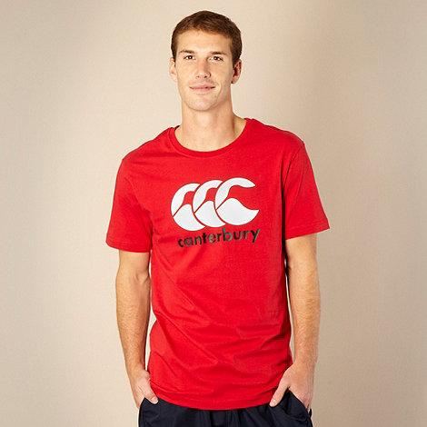 Canterbury - Red CCC logo t-shirt