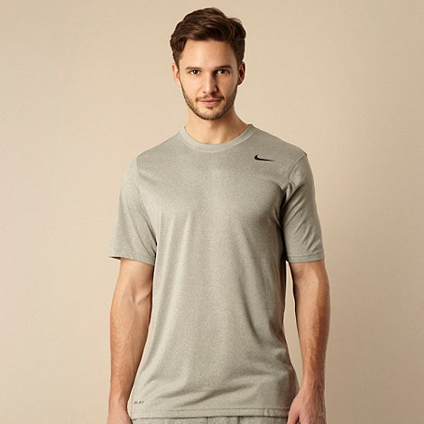 Nike - Grey logo t-shirt