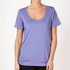 XPG by Jenni Falconer - Lilac textured striped training t-shirt