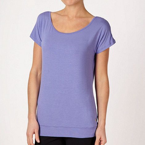 XPG by Jenni Falconer - Lilac loose fitting training t-shirt