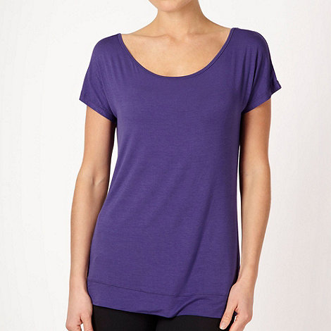 XPG by Jenni Falconer - Dark purple loose fitting training t-shirt