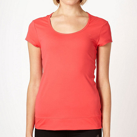 adidas - Coral slim fitting training t-shirt
