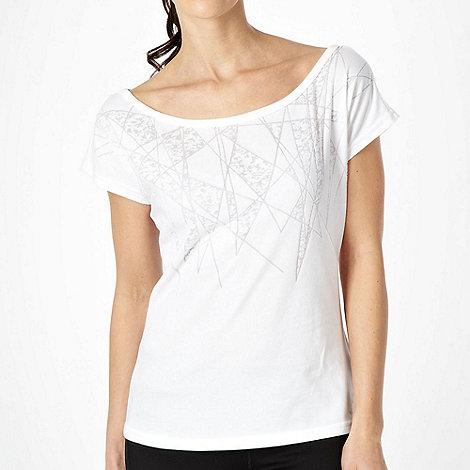 adidas - White +Dance+ t-shirt