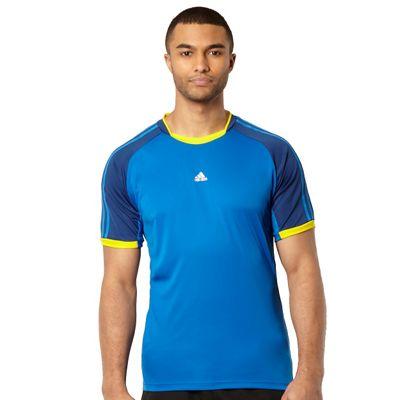 Adida dark blue panel ´ClimaCool´ t-hirt - . -