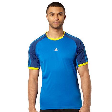adidas - Dark blue panel +ClimaCool+ t-shirt