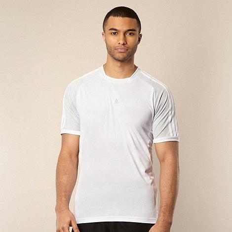 adidas - White +ClimaCool+ t-shirt