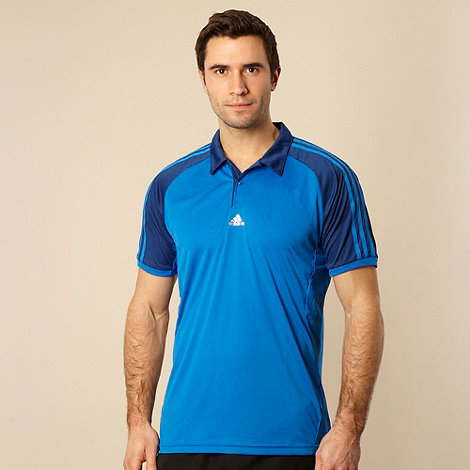 adidas - Bright blue +365+ polo shirt