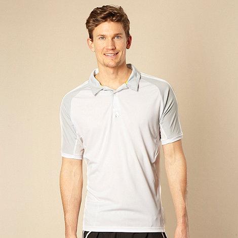 adidas - White +365+ polo shirt
