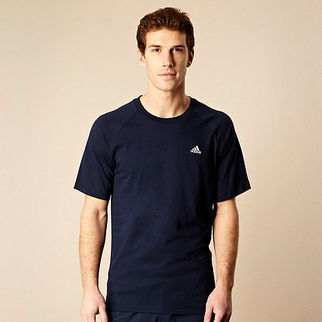 adidas - Navy essential crew neck t-shirt