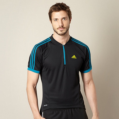 adidas - Black +Response+ Climacool short sleeve cycling jersey