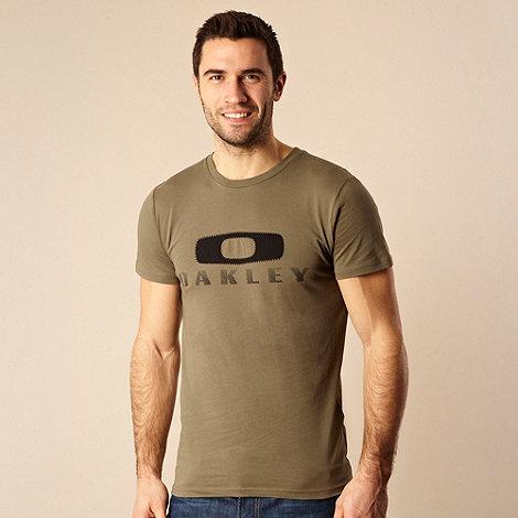 Oakley - Green applique printed t-shirt