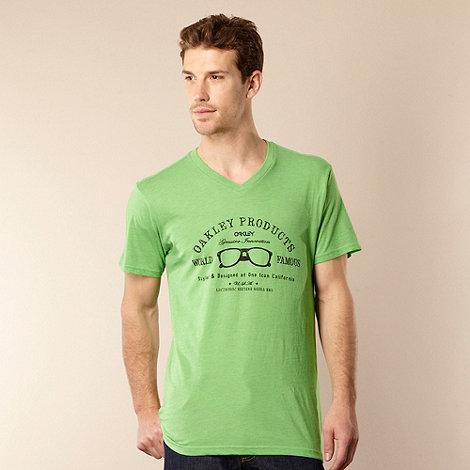 Oakley - Green +World Famous+ logo t-shirt