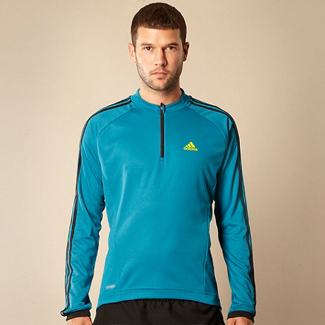 adidas - Blue +Response+ Climacool long sleeve cycling jersey