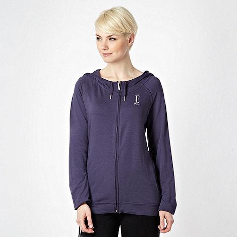 Elle Sport - Grey lightweight jersey hoodie