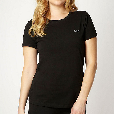 Reebok - Black crew neck t-shirt