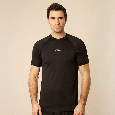 ASICS - Black crew neck t-shirt