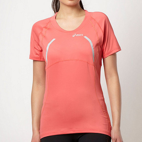 ASICS - Coral scoop neck t-shirt