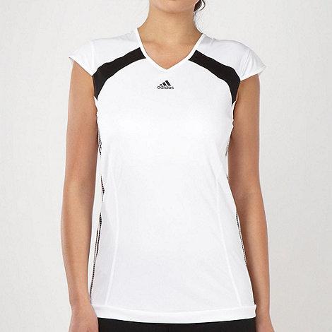 adidas - White +Response Caps+ t-shirt