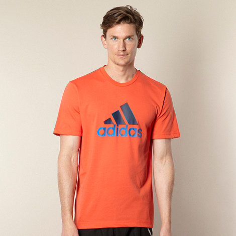 adidas - Orange logo t-shirt