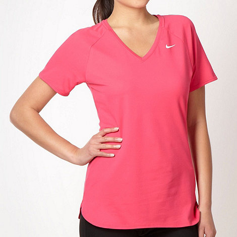 Nike - Bright pink +Base layer+ fitness top