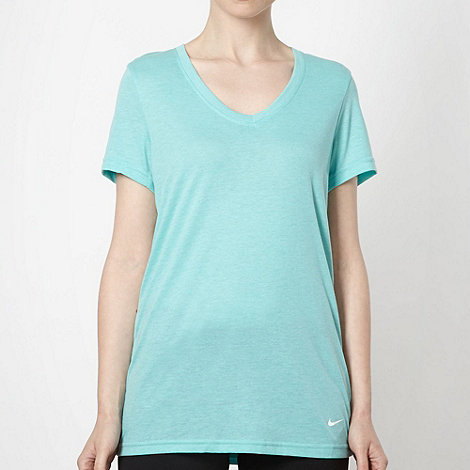 Nike - Light green loose fit t-shirt