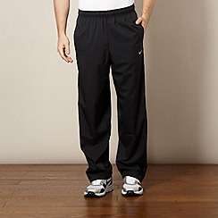 Nike - Black elasticated waist casual trousers