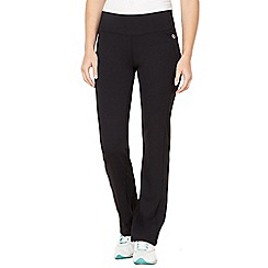 XPG by Jenni Falconer - Black straight leg performance fitness pants