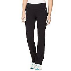 XPG by Jenni Falconer - Black straight leg performance fitness pants