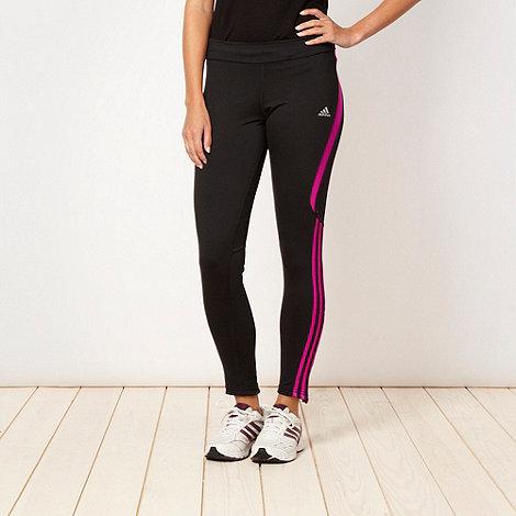 adidas - Black +Response+ tight jogging bottoms
