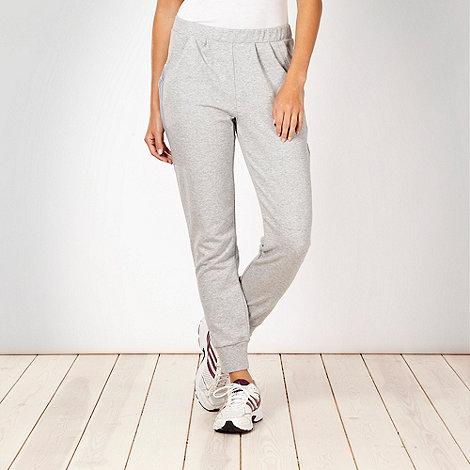 adidas - Grey slim leg dance pants