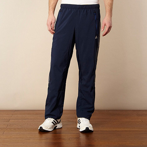 adidas - Navy blue tracksuit bottoms